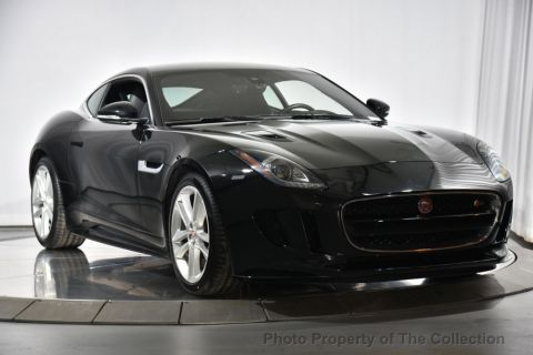 Pre-Owned 2017 Jaguar F-TYPE Coupe Automatic S