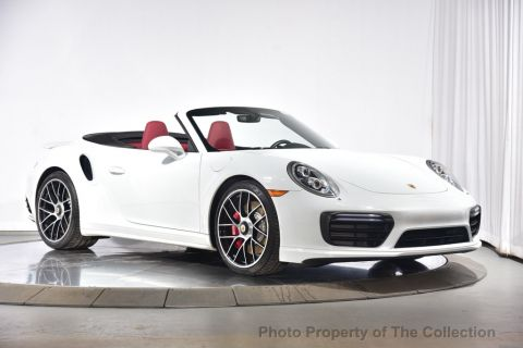 Pre-Owned 2018 Porsche 911 Turbo Cabriolet